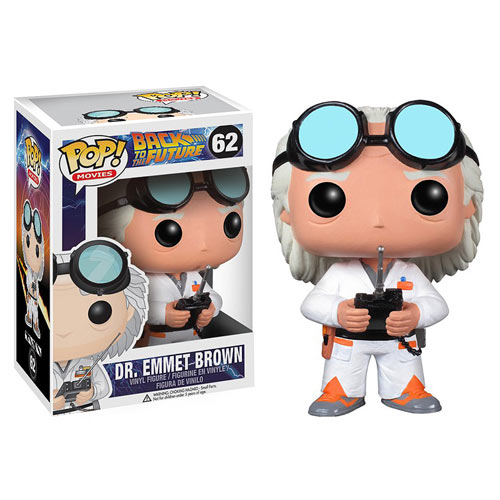 POP! Movies 062: Back To The Future- Dr. Emmett Brown