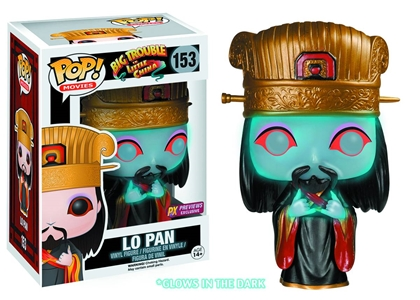 POP! Movies 153: Big Trouble In Little China- Lo Pan (PX Previews Exclusive)