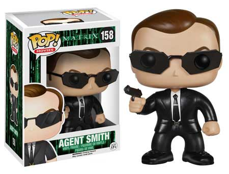 POP! Movies 158: The Matrix- Agent Smith