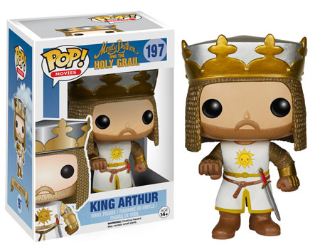 POP! Movies 197: Monty Python and the Holy Grail- King Arthur