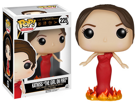 "POP! Movies 225: The Hunger Games- Katniss ""The Girl On Fire"""