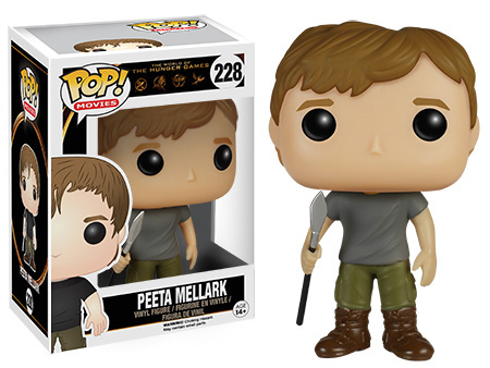 POP! Movies 228: The Hunger Games- Peeta Mellark