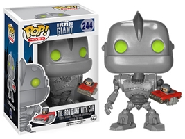 POP! Movies 244: The Iron Giant- The Iron Giant With Car