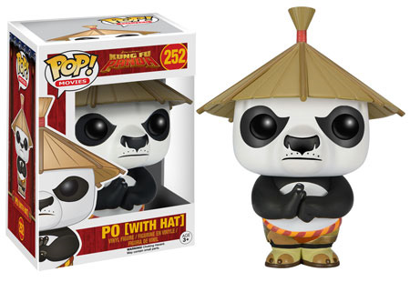POP! Movies 252: Kung Fu Panda- Po (With Hat)