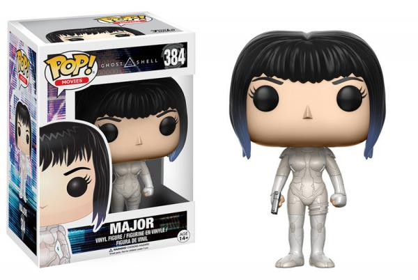 POP! Movies 384: Ghost in a Shell- Major (Damaged Box)