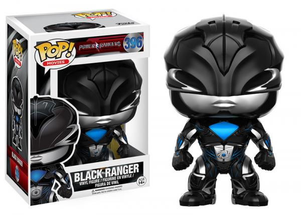 POP! Movies 396: Power Rangers- Black Ranger