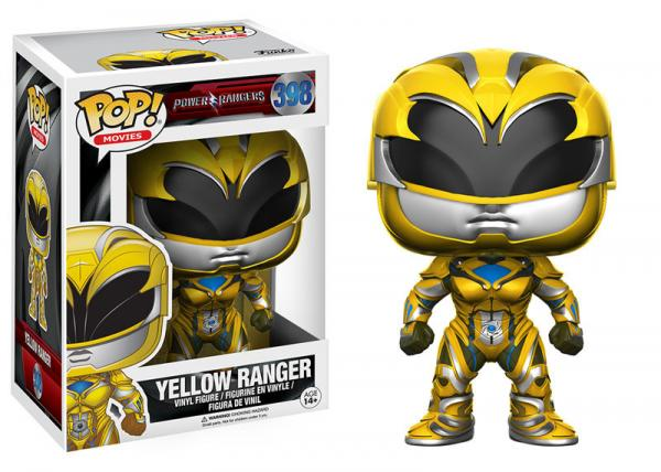 POP! Movies 398: Power Rangers- Yellow Ranger