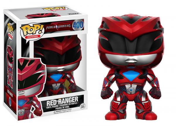 POP! Movies 400: Power Rangers- Red Ranger