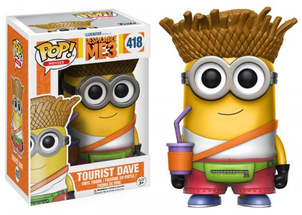 POP! Movies 418: Despicable Me 3: Tourist Dave