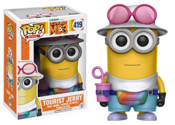 POP! Movies 419: Despicable Me 3: Tourist Jerry