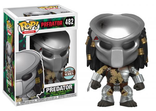 POP! Movies 482: Predator- Masked Predator (Specialty Series) [Damaged]