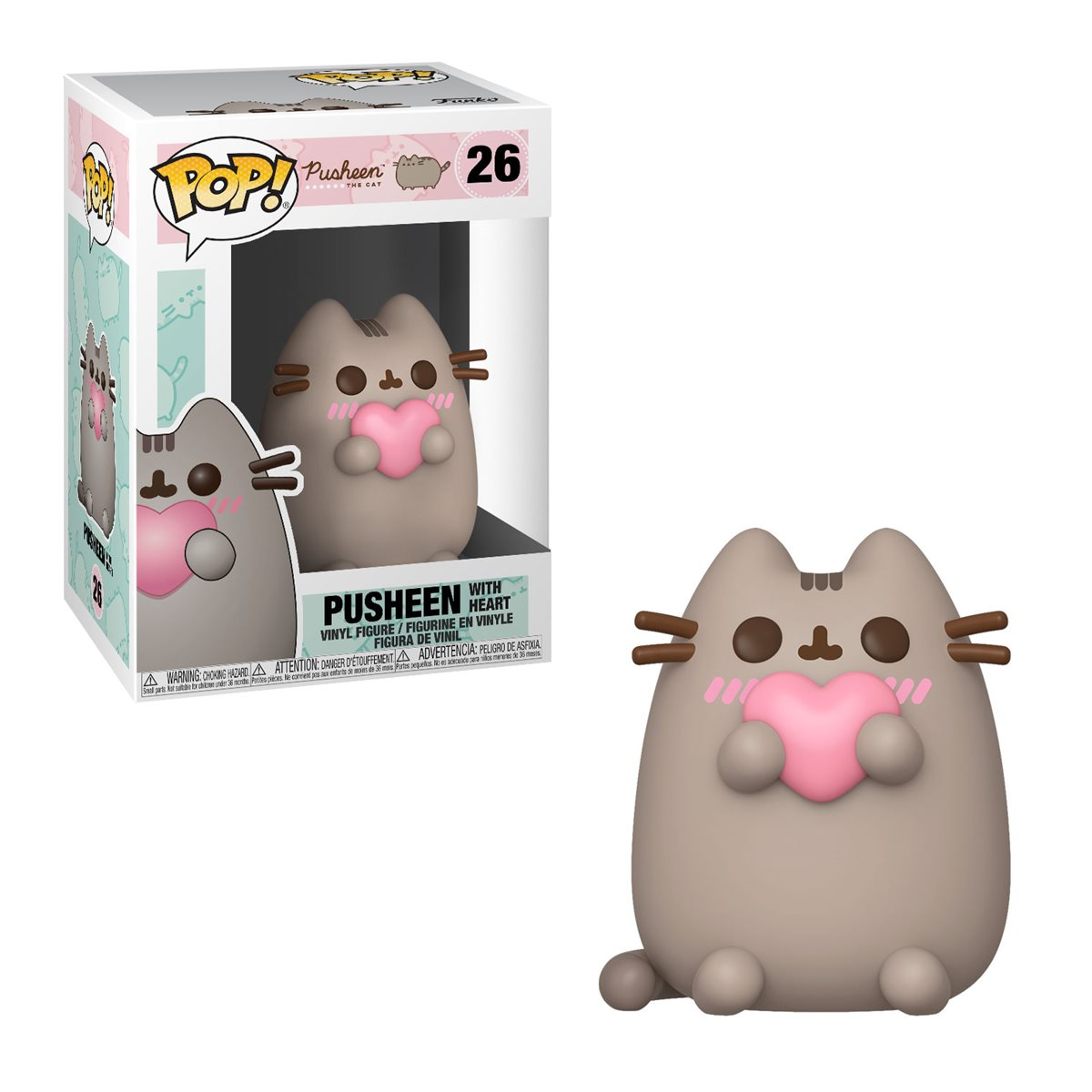 POP! Pusheen 26: Pusheen with Heart
