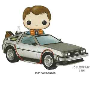 POP! Rides 002: Back To The Future- Time Machine
