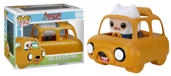 POP! Rides 014: Adventure Time- Jake Car With Finn