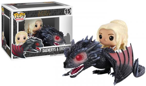 POP! Rides 015: Game Of Thrones- Daenerys & Drogon