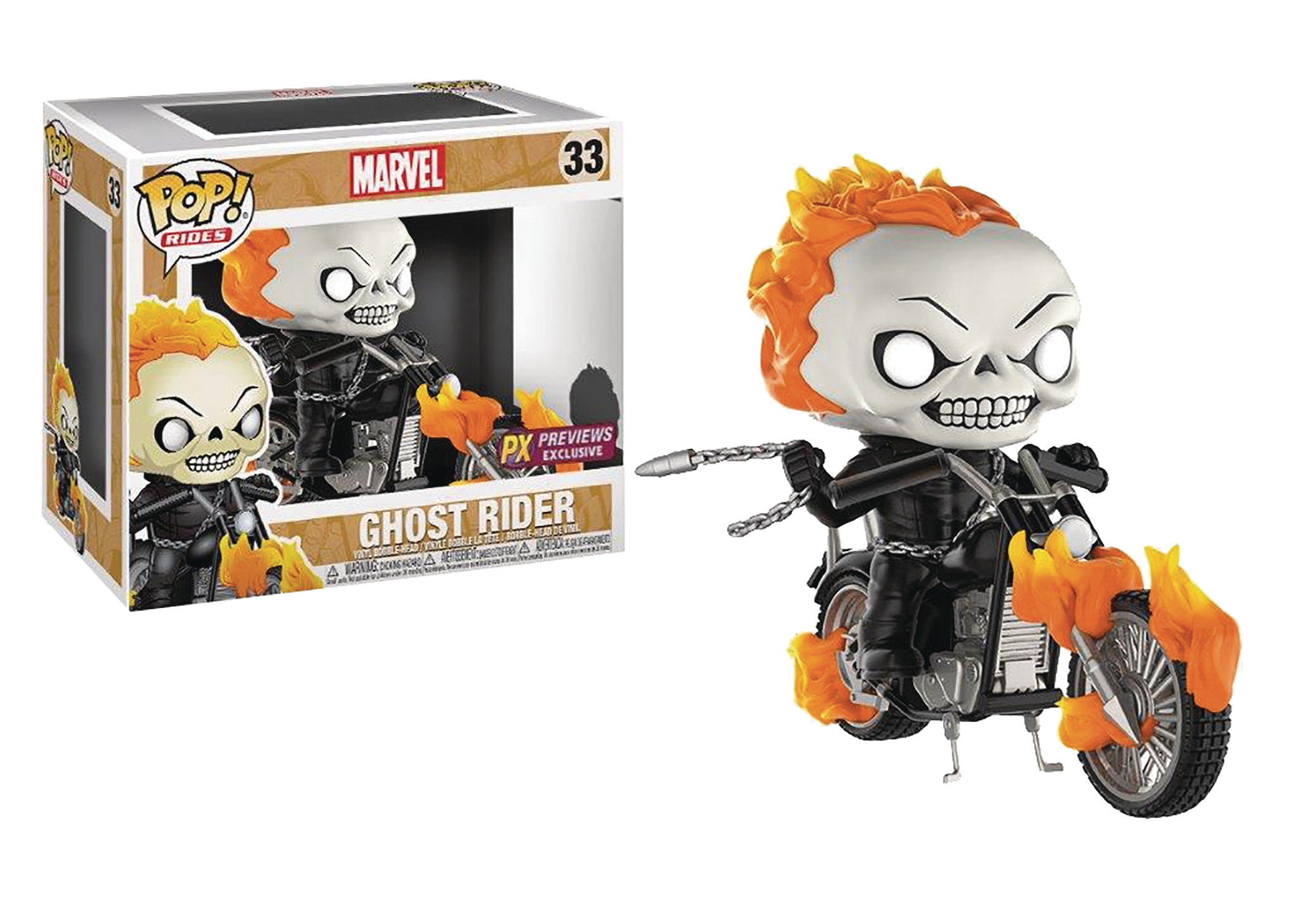 POP! Rides 033: Ghost Rider (PX Exclusive)