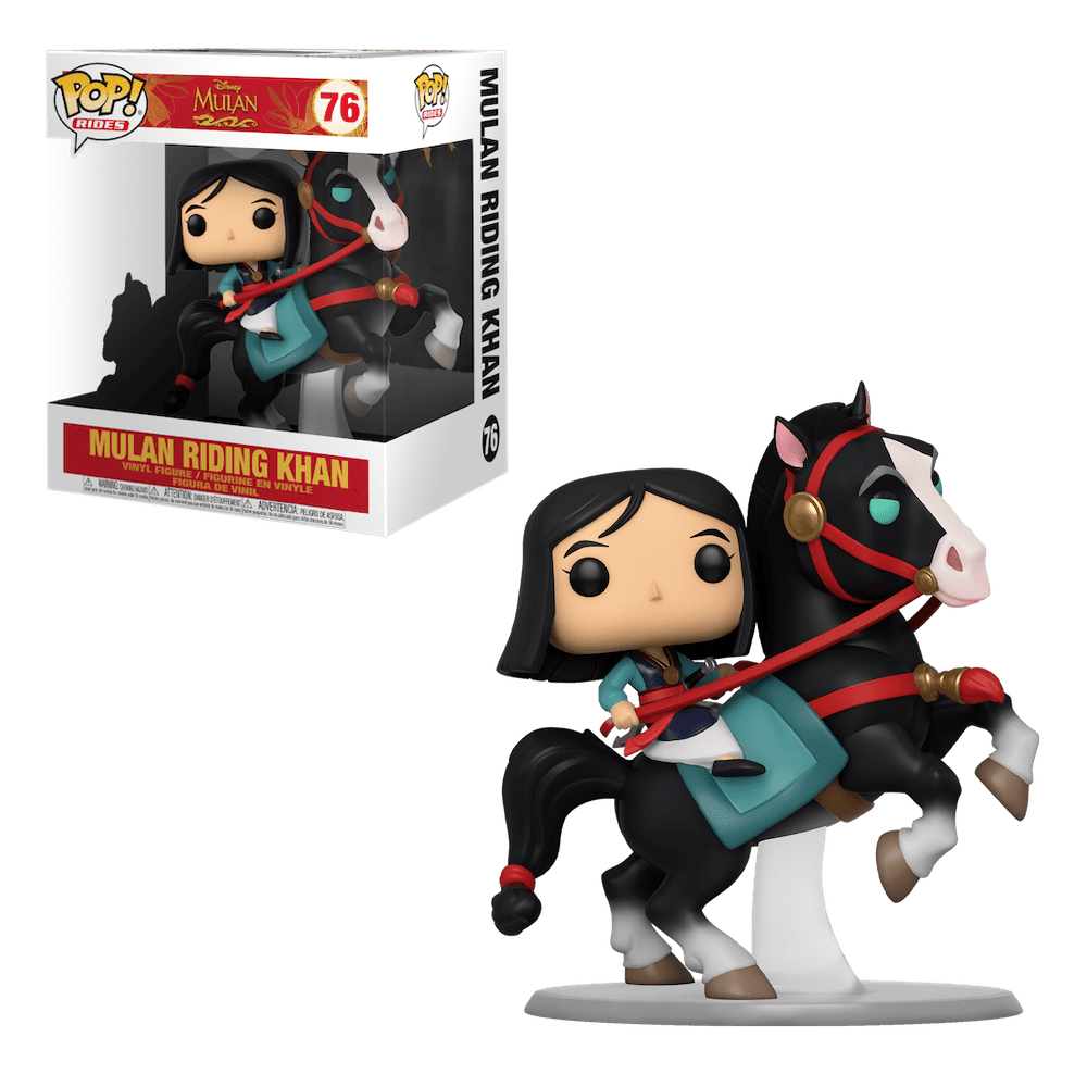 POP! Rides 76: Mulan on Khan