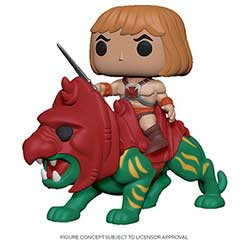 POP! Rides Animation: Masters of the Universe - He-Man on Battle Cat