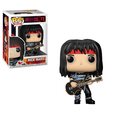 POP! Rocks 072: Mötley Crüe- Mick Mars