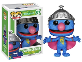 POP! Sesame Street 001: Super Grover