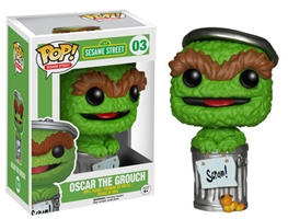 POP! Sesame Street 003: Oscar The Grouch