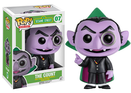 POP! Sesame Street 007: The Count