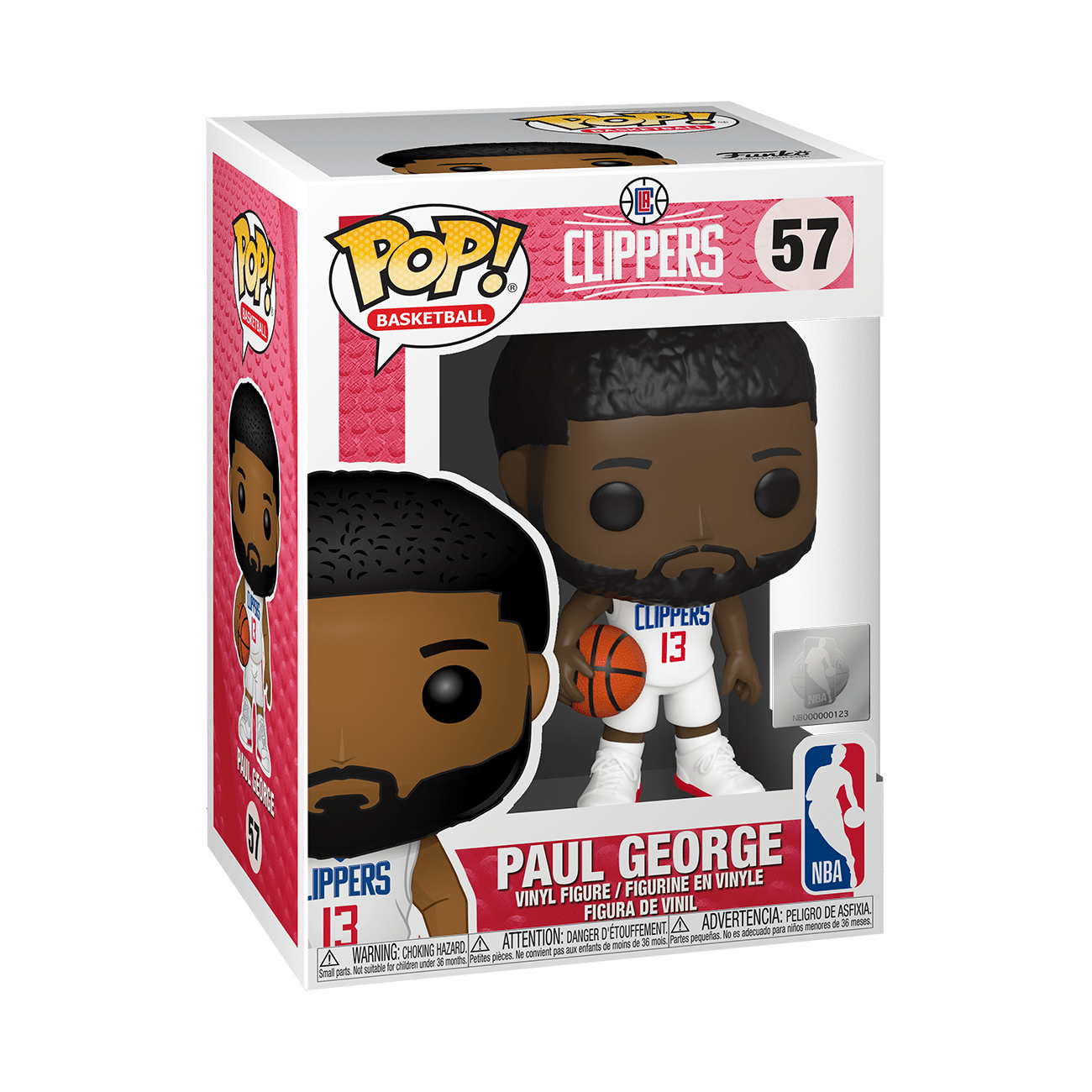 POP! Sports: NBA: Paul George (Clippers)