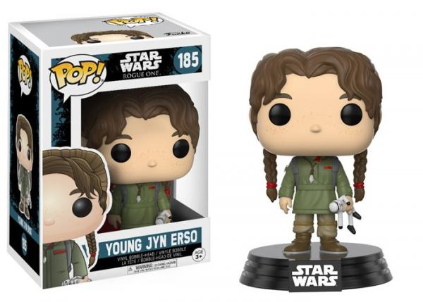 POP! Star Wars 185: Rogue One- Young Jyn Erso