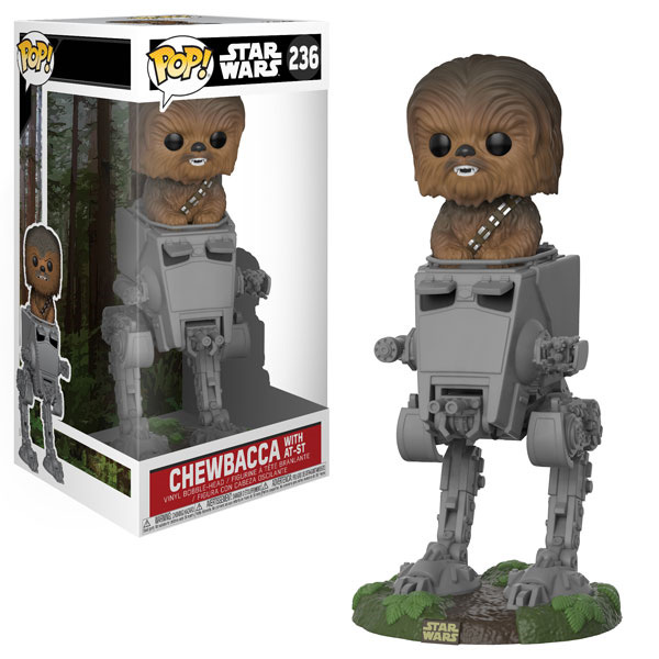 POP! Star Wars 236: Chewbacca with AT-ST