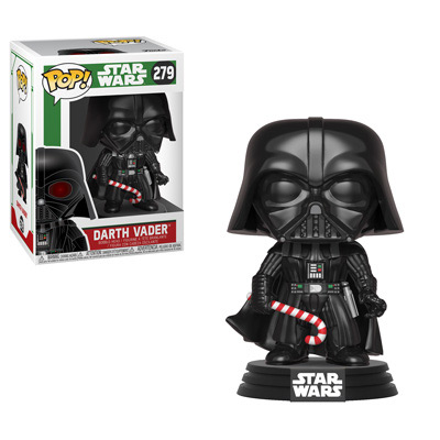 POP! Star Wars 279: Darth Vader (Holiday) [GLOW IN THE DARK CHASE]