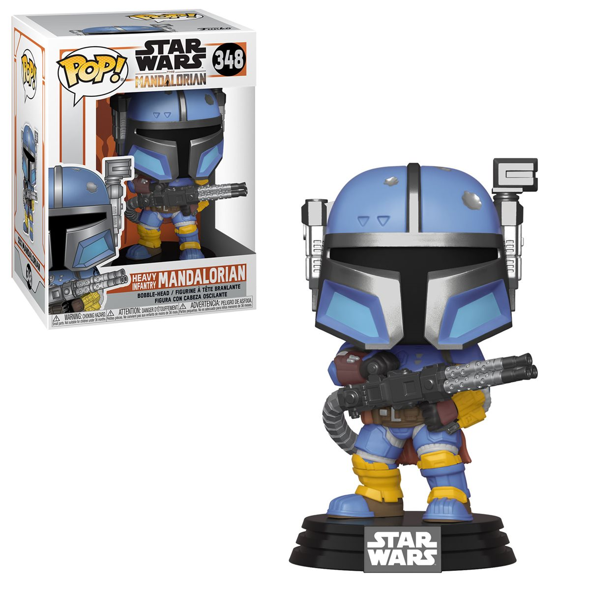 POP! Star Wars 348: Mandalorian - Heavy Infantry Mandalorian