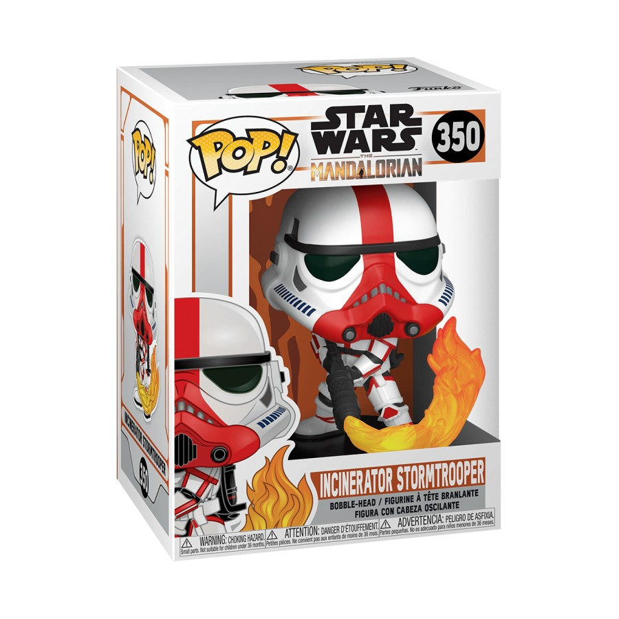POP! Star Wars 350: Mandalorian - Incinerator Stormtrooper