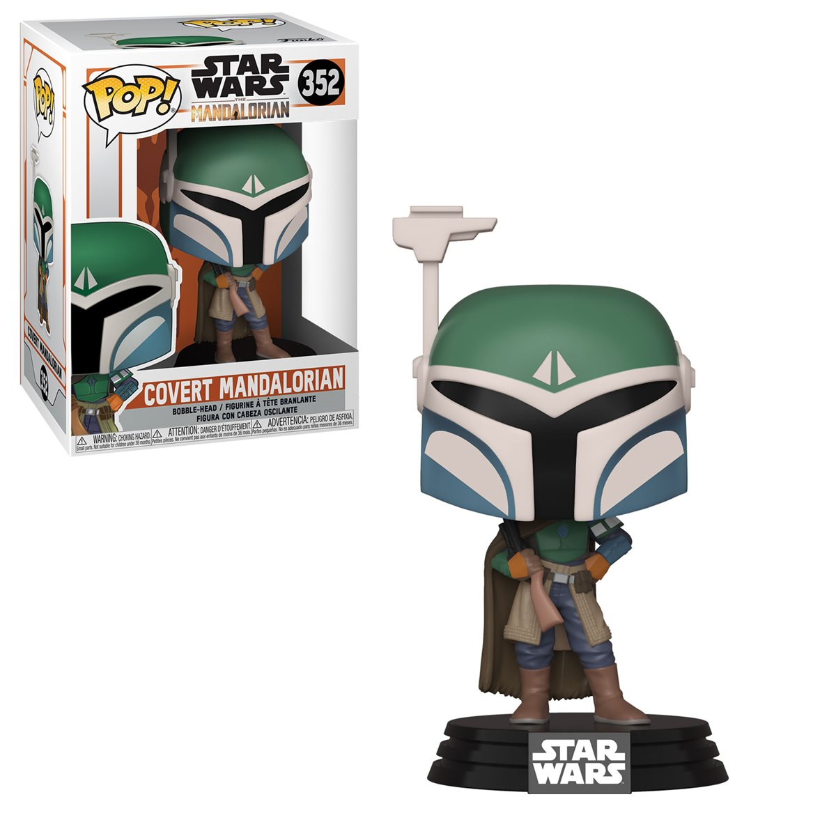POP! Star Wars 352: Mandalorian - Covert Mandalorian