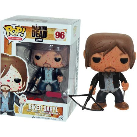 POP! Television 096: The Walking Dead- Biker Daryl [Bloody Version]