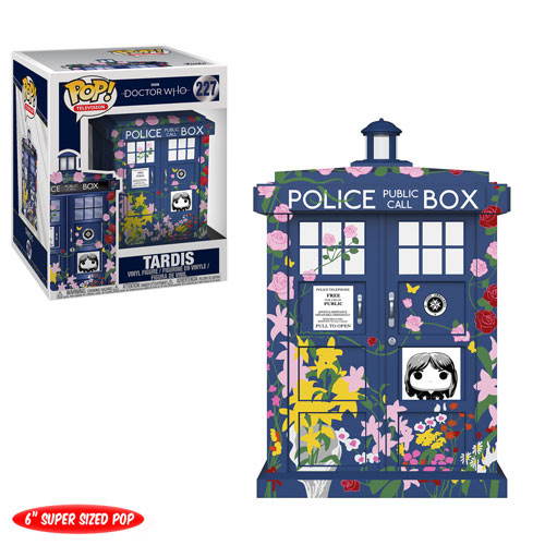 "POP! Television 227: Doctor Who - 6"" Tardis (Clara)"