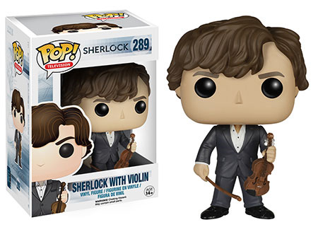 POP! Television 289: Sherlock- Sherlock With Violin