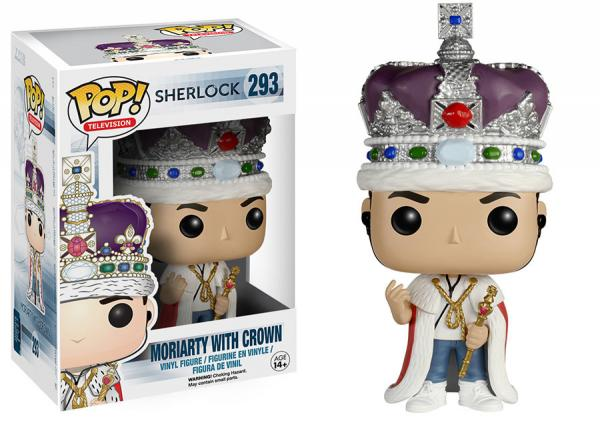 POP! Television 293: Sherlock- Moriarty With Crown