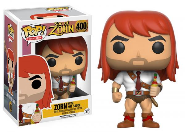 POP! Television 400: Son of Zorn- Zorn (With Hot Sauce)