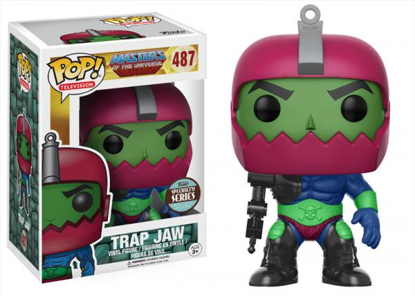 POP! Television 487: Masters Of The Universe- Trap Jaw (Specialty Series)