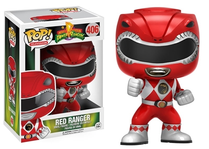 POP! Televison 406: Mighty Morphin Power Rangers- Red Ranger