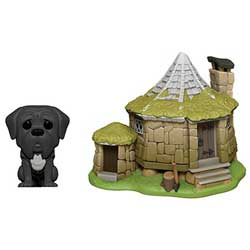 POP! Town: Harry Potter - Hagrids Hut with Fang