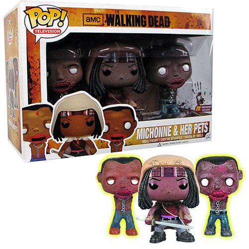 POP! Television: The Walking Dead- Michonne & Her Pets