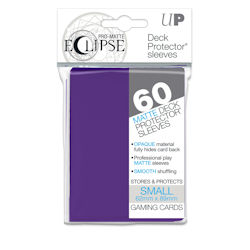 PRO-Matte Eclipse Standard Japanese Deck Protector Sleeves: Royal Purple
