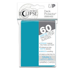 PRO-Matte Eclipse Standard Japanese Deck Protector Sleeves: Sky Blue
