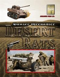 Avalanche Press - Panzer Grenadier: Desert Rats #APL0307
