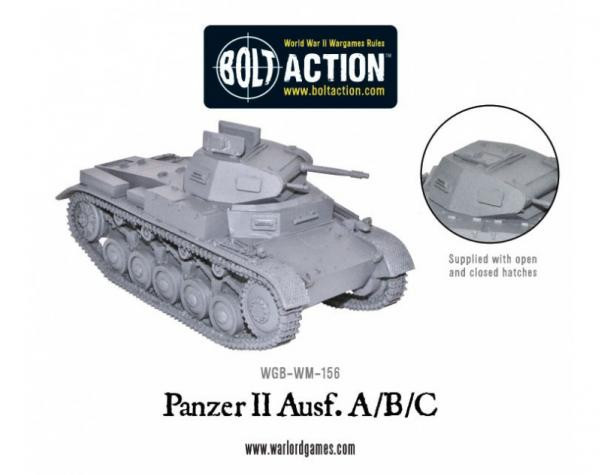 Bolt Action: German: Panzer II