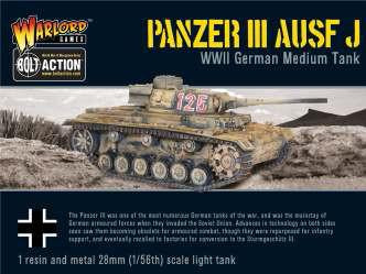 Bolt Action: German: Panzer III Ausf J