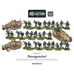 Bolt Action: German: Panzergrenadier Platoon