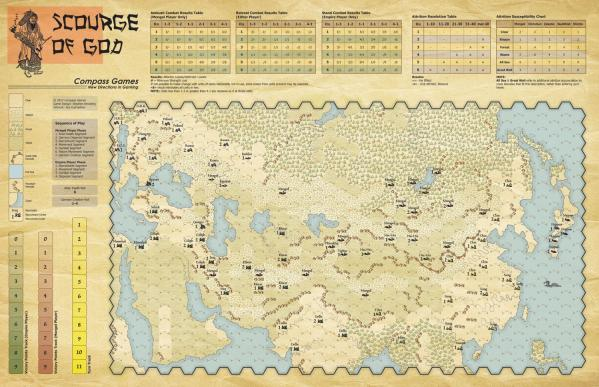 Paper Wars #088: Scourge of God – The Campaigns of the Mongolians, 1206-1259