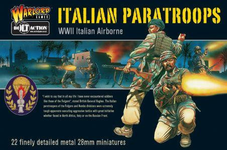 Bolt Action: Italian: Paratroopers
